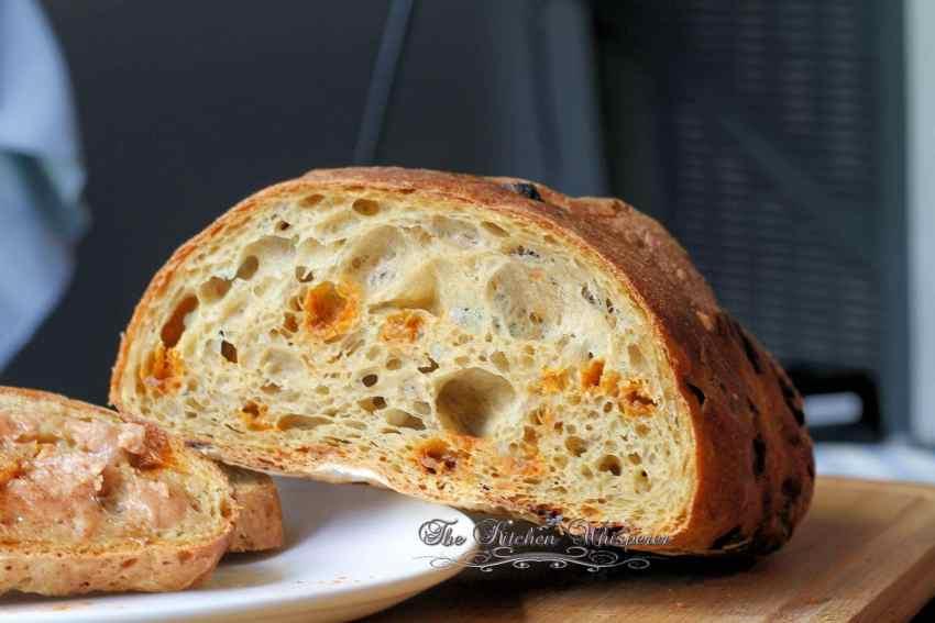 No Knead Pumpkin Cinnamon Bread1