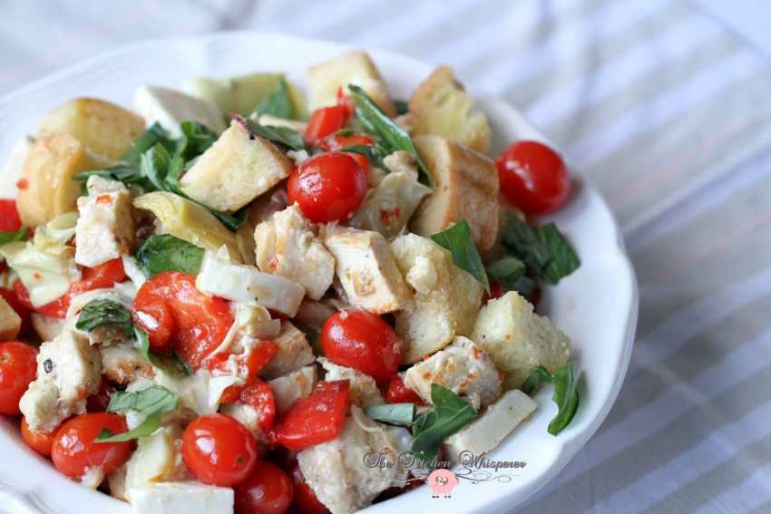 Italian Chicken Panzanella10