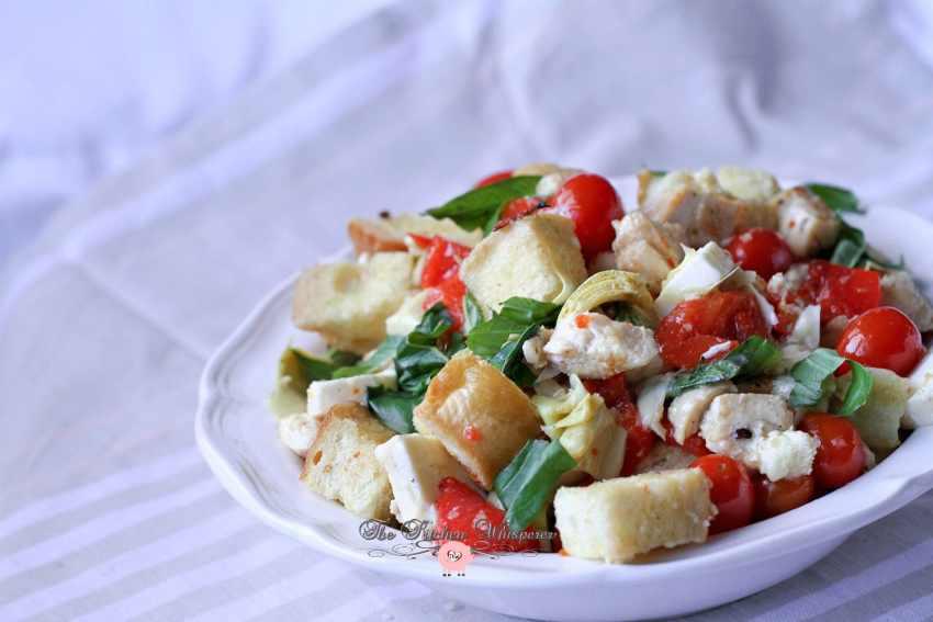 Italian Chicken Panzanella14