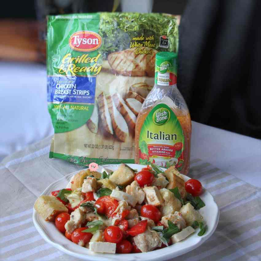 Italian Chicken Panzanella7