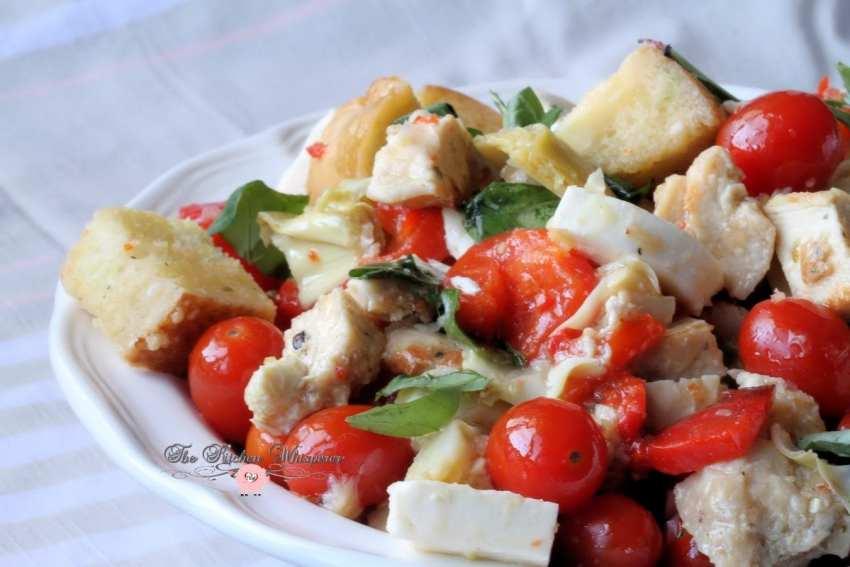Italian Chicken Panzanella8.