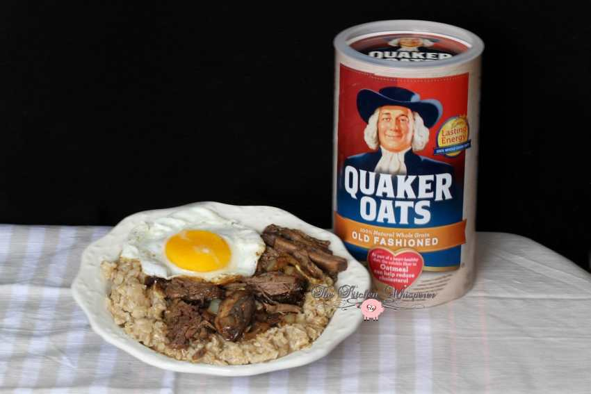 Savory Beef and Eggs Oatmeal2