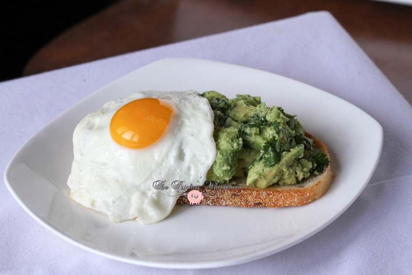 Smashed Avocado Egg Toast