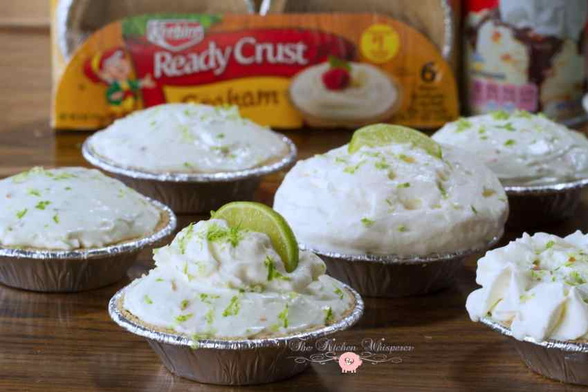 No Bake Key Lime Coconut Cheesecakes8