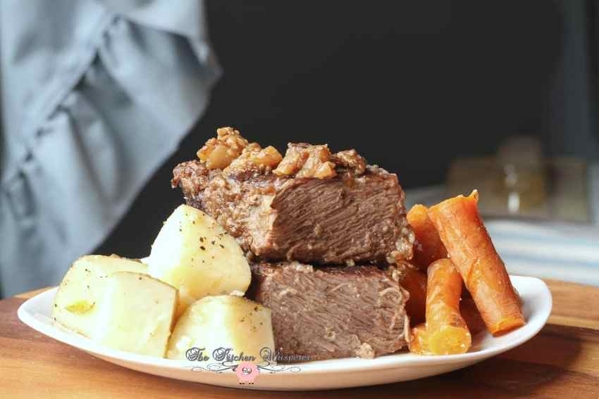 Pressure Cooker Beef Short Ribs Taters Carrots3