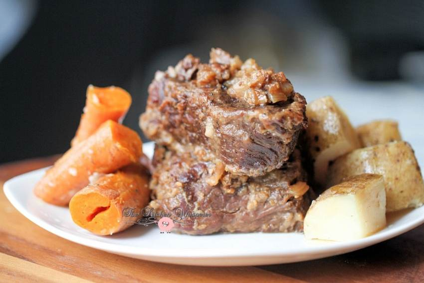 Pressure Cooker Beef Short Ribs Taters Carrots9
