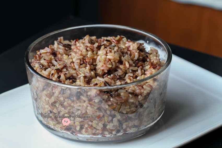 pressure cooker wild grain rice6