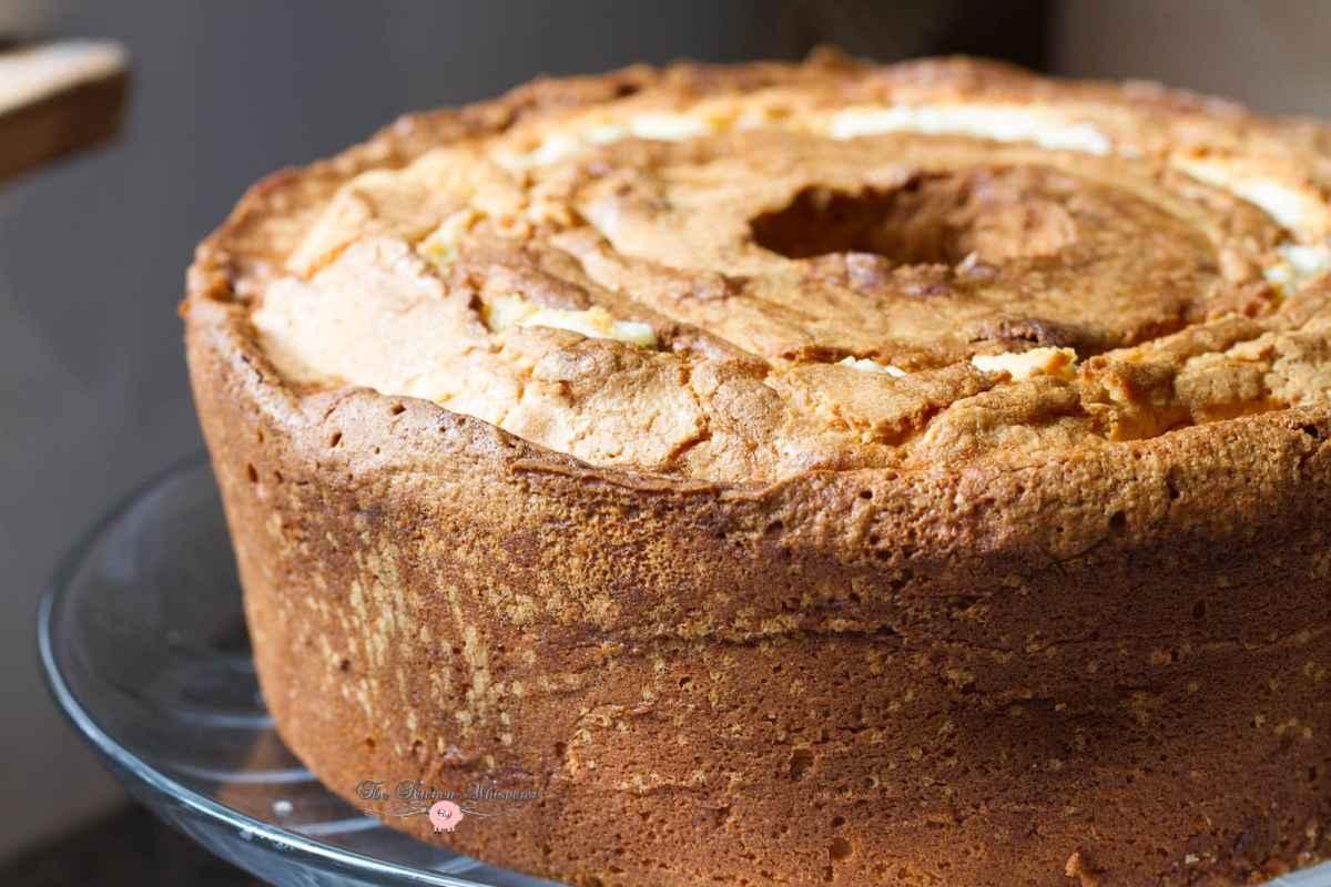 Grandma's Vanilla Bean Cream Cheese Pound Cake