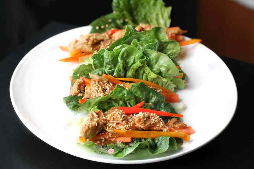 Thai Chicken Lettuce Wraps5