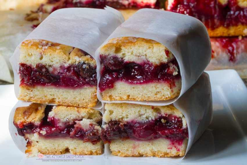Easy & Super Delicious Cherry Pie Bars