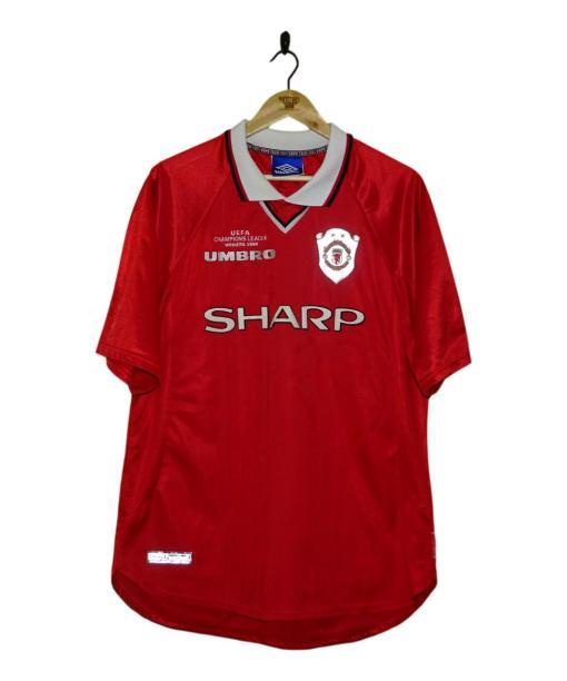 1999-00 Manchester United Champions League Winners Shirt