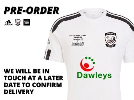 Hereford FC 2021-22 Adidas Home Kit Revealed