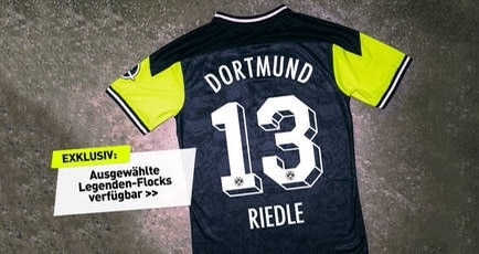 Limited Edition Retro Borussia Dortmund Nullne90n Kit 2020-21