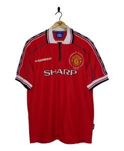 1998-00 Manchester United 'Treble Winners' Home Shirt