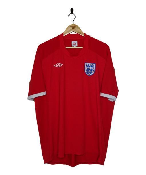 2010-11 England Away Shirt
