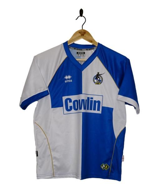 2008-09 Bristol Rovers Home Shirt
