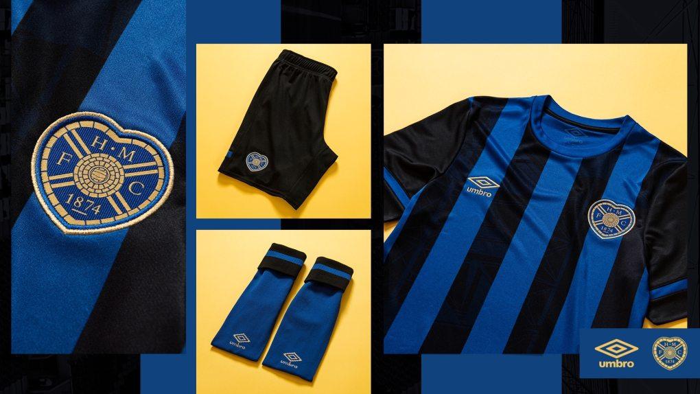 Umbro 2021-22 Hearts FC Third Kit Revealed