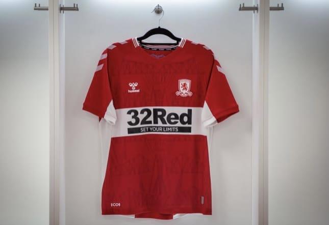 Hummel 2021-22 Middlesbrough FC Home Shirt