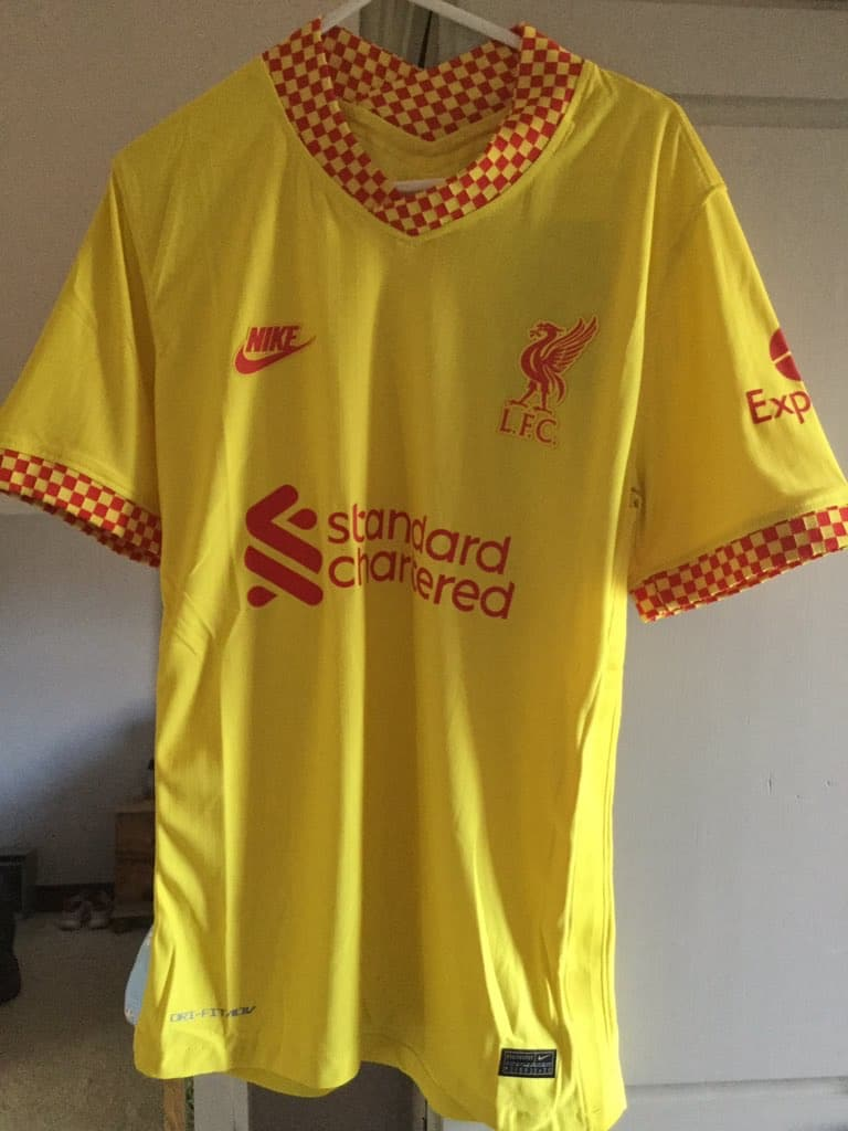 Nike 2021-22 Liverpool Third Shirt Leaked?