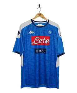 2019-20 SSC Napoli Home Shirt