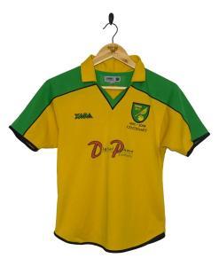 2001-02 Norwich City Centenary Home Shirt