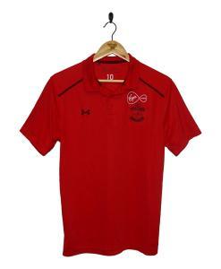 2017-18 Southampton Match Worn Polo Shirt