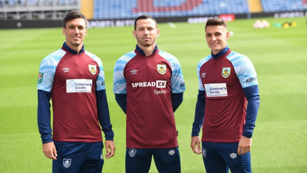 Burnley To Wear Alzheimer's Society Shirt Sponsor