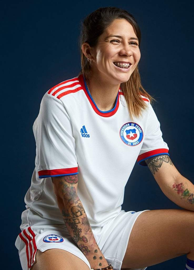 Adidas 2021-22 Chile Away Shirt