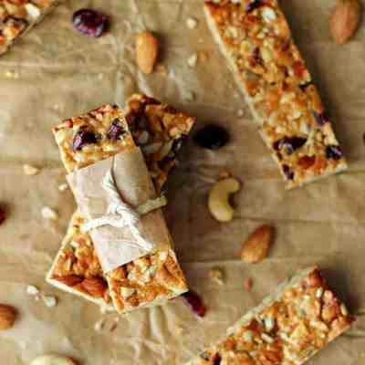 Cranberry Almond Snack Bars