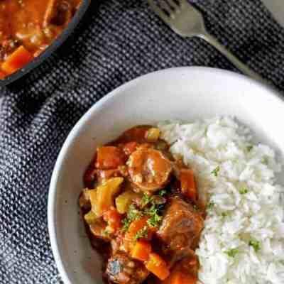 Spicy Chicken & Sausage Gumbo