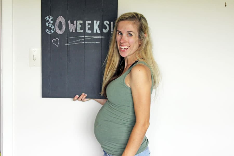 Update on Baby Mac - 30 weeks pregnant and starting to feel like an actual pregnant person! All the things I'm feeling, eating and being excited about!