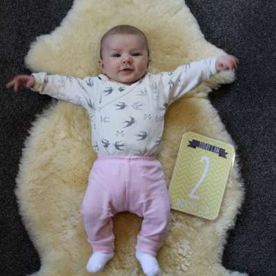 Life with Sadie – 2 months