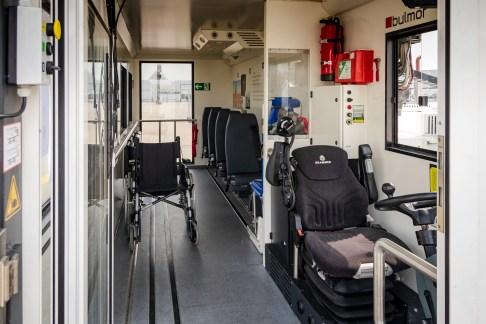 Wem es mit dem Laufen oder Einsteigen nicht so leicht fällt, der kann auf die Hilfe des Mobility-Service bauen.