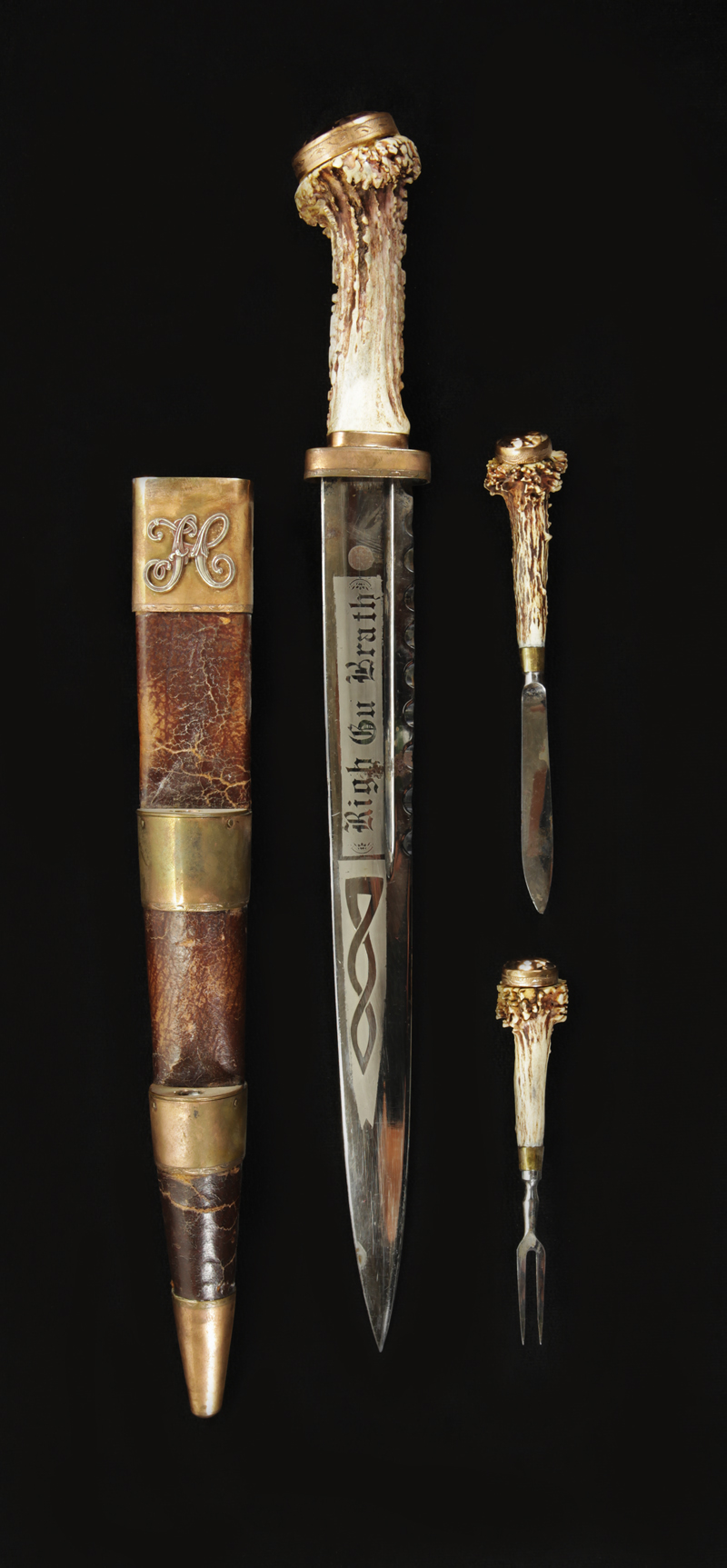 French Ivory Handle Knife