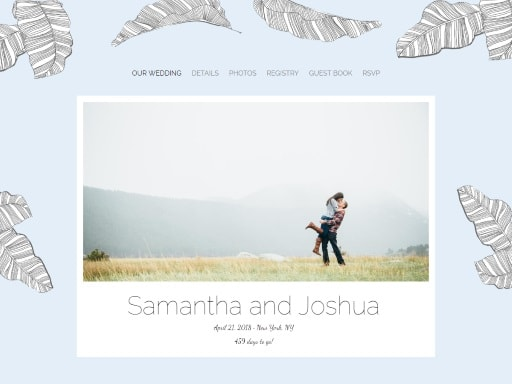 Personalized Wedding Website Templateatching Invitations