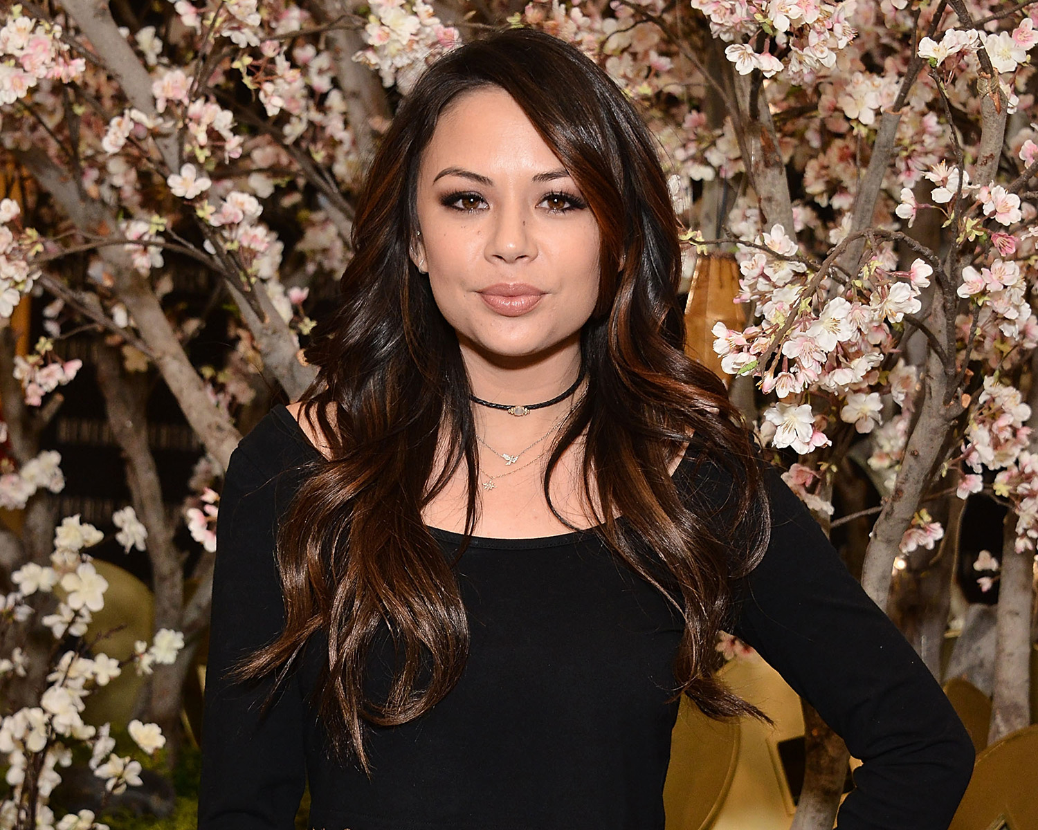 Pretty Little Liars Janel Parrish Maid Of Honor For
