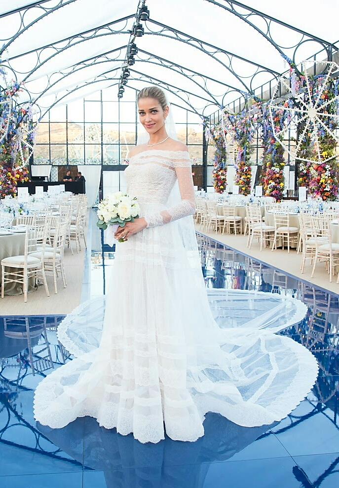 Ana Beatriz Barros Marries Karim El Chiaty Wedding Photos