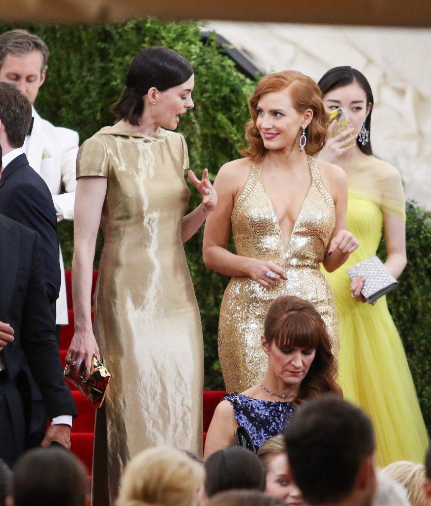 Jessica Chastain Wedding 1