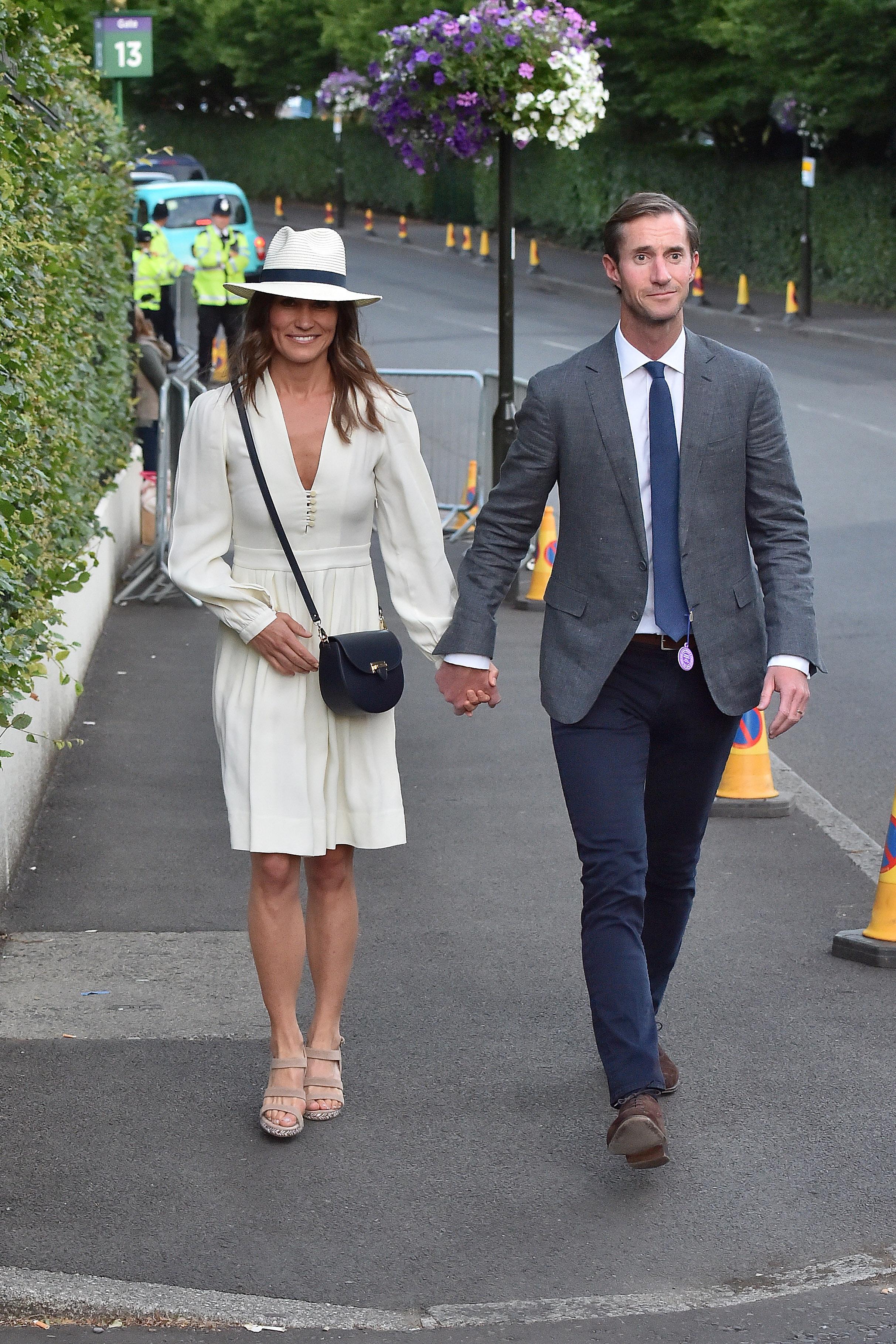 Pippa Middleton Resurfaces With James Matthews At