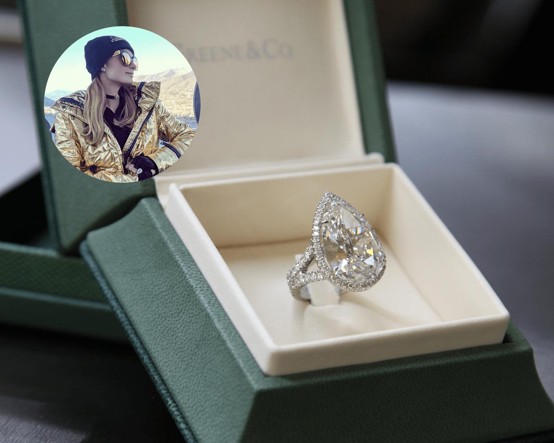 Paris Hiltons Engagement Ring Designer On Her 20 Carat