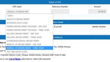 Uganda driving permit fees