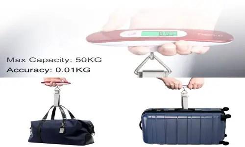 FREETOO 50 Kg Portable Luggage Scale