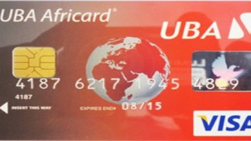 Free UBA Visa Credit Card Virtual Debit Card