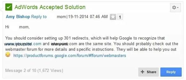 Google Analytics Redundant Host Names Solution