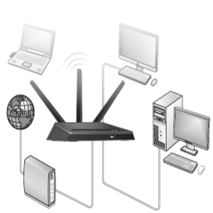 How WiFi routers work?