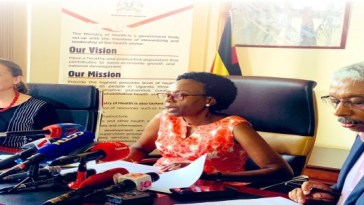 Minister of Health, Jane Ruth Aceng