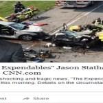 Jason Statham Car Aaccident Dead Hoax