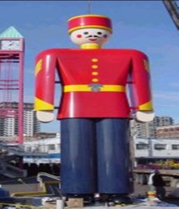 Largest Tall Tin Soldier In New Westminster