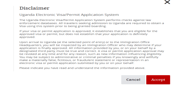 Uganda_Electronic_VISA_Disclaimer
