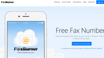FaxBurner Free Online Fax Service